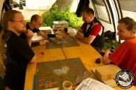 Konzentrierte Planung beim Battletech