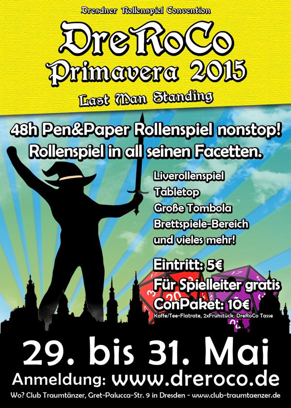 DreRoCo Primavera VI vom 29.-31. Mai 2015
